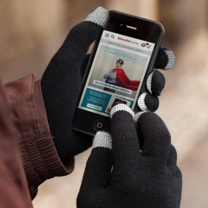 Touchscreen Handschuhe - weiß