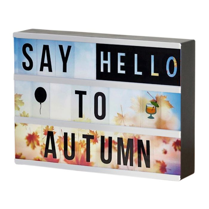 Premium LED Lightbox Set