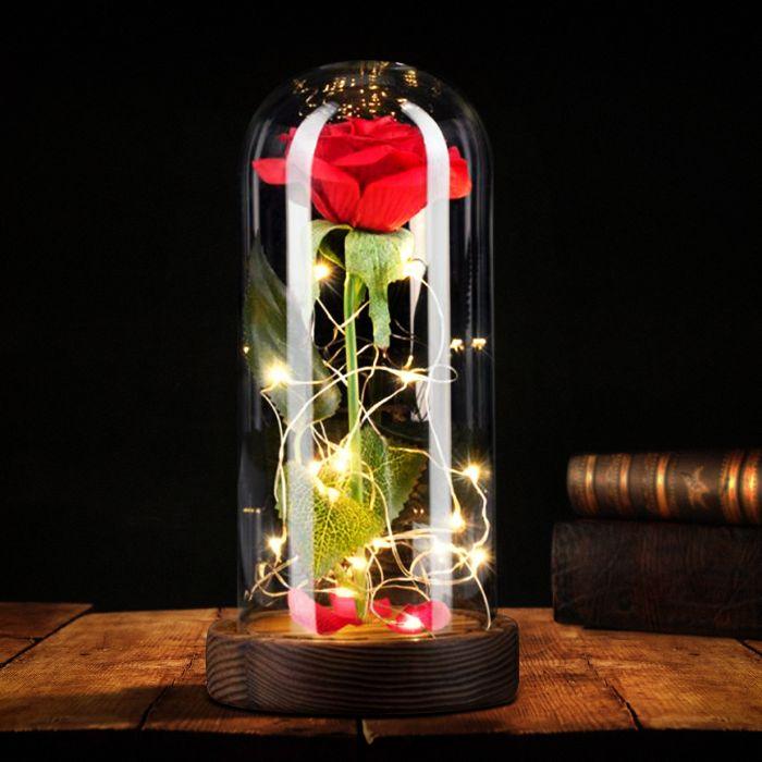 - Rose unter Glasglocke - Onlineshop Monsterzeug