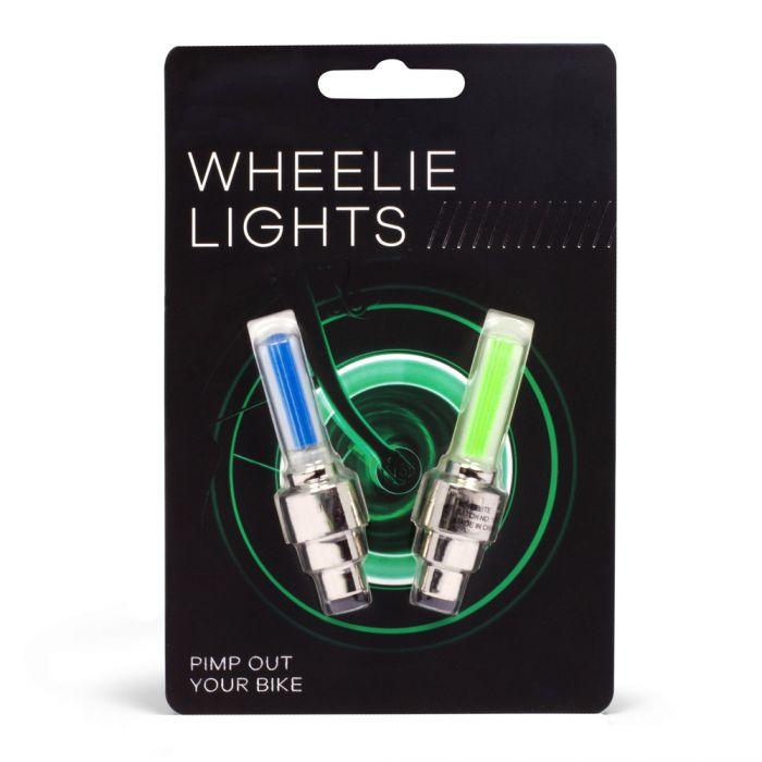 Fahrradbeleuchtung - LED Speichenlicht 2er Set