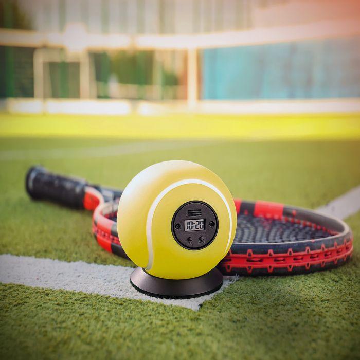 Wurfwecker - Tennisball