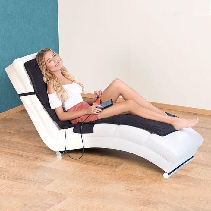 Nützlichwellness - Massagegert als Auflage mit Vibration und IR Tiefenwrme - Onlineshop Monsterzeug