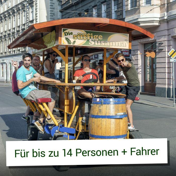 Euer eigenes Bierbike - Thekenfahrrad und Familienkutsche