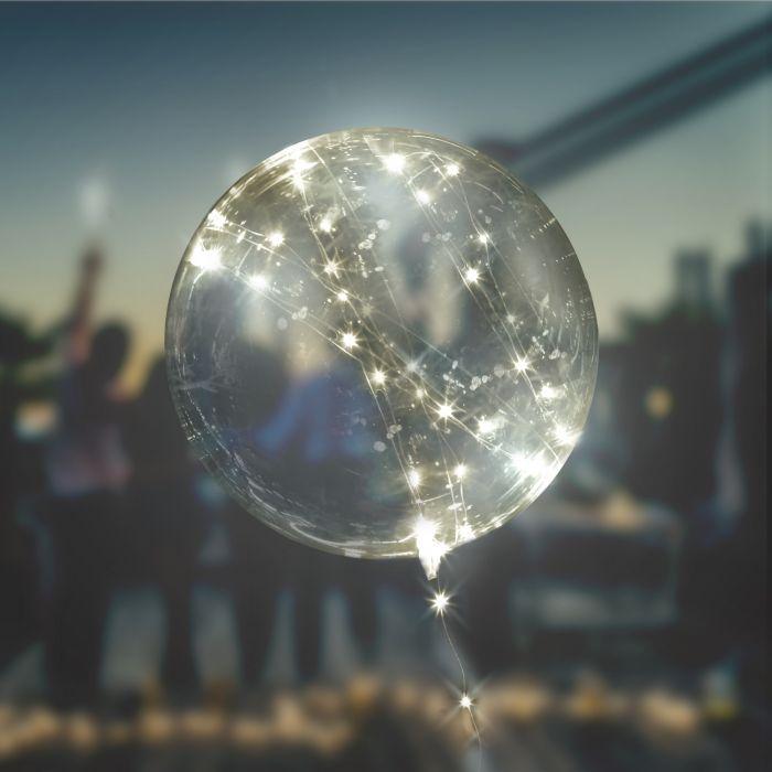 Ausgefallenromantisches - Luftballon mit Lichterkette LED Ballon - Onlineshop Monsterzeug
