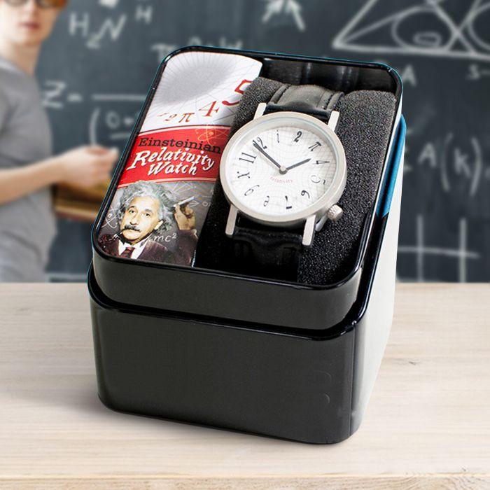 Nützlichwohnaccessoires - Armbanduhr Einsteins Relativittstheorie - Onlineshop Monsterzeug