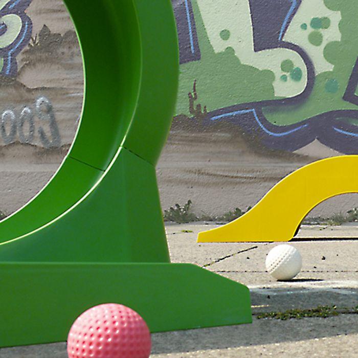 Ausgefallenkleineaufmerksamkeiten - Mobiles Minigolf Set - Onlineshop Monsterzeug