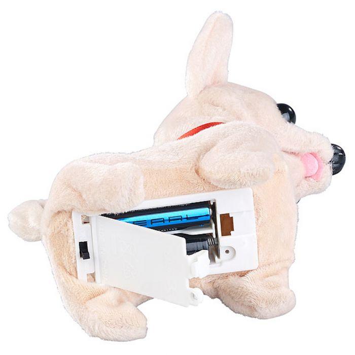 Laufendes Kuscheltier Chihuahua mit Soundeffekt