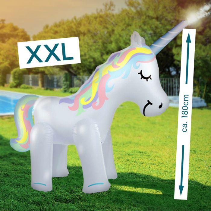 XXL Einhorn Wassersprinkler