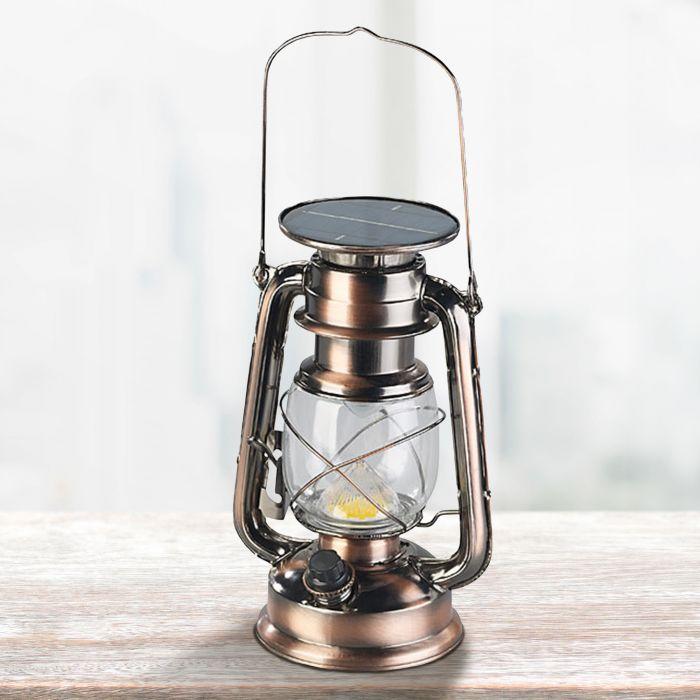 Nützlichdekoration - LED Solarleuchte in Sturmlaternen Optik - Onlineshop Monsterzeug