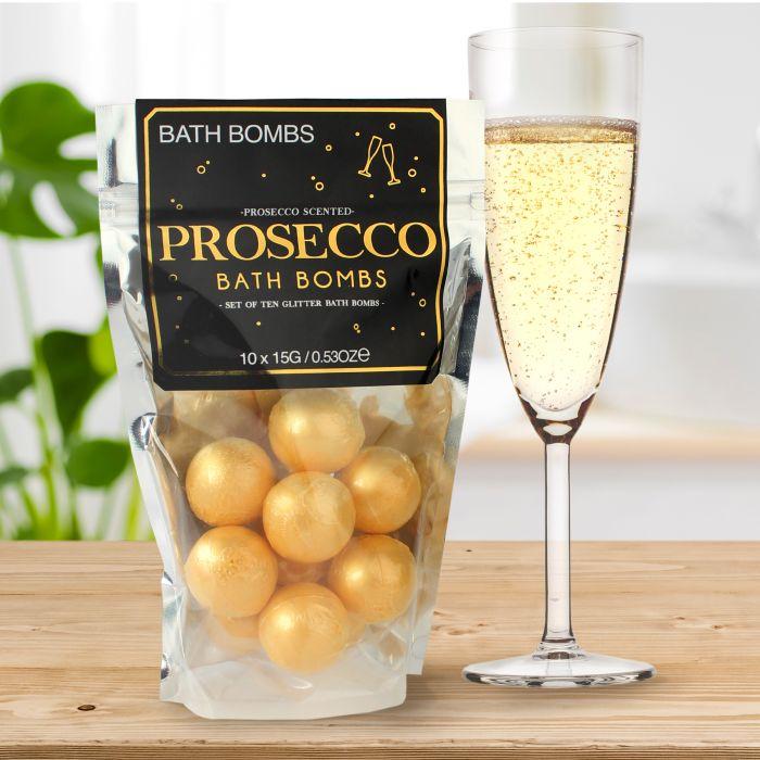 Coffret cadeau - Bombes de bain - Champagne