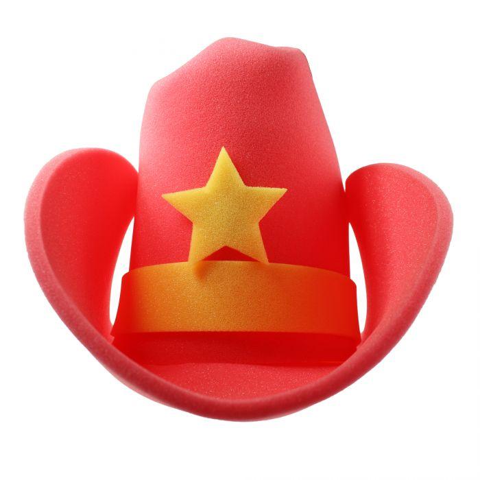 XXL Cowboyhut - rot