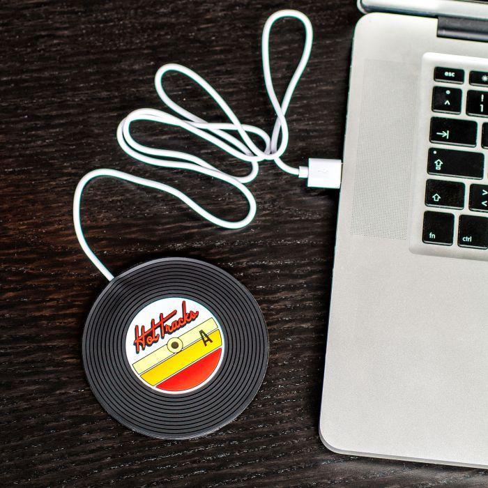 Individuellküchenzubehör - USB Tassenwrmer Schallplatte - Onlineshop Monsterzeug