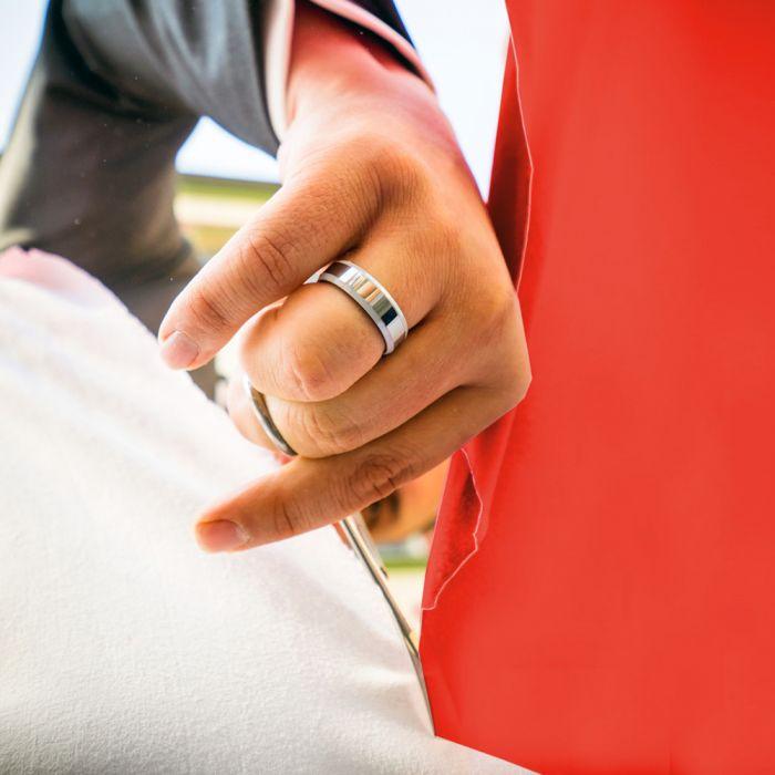 Hochzeitslaken Herzmotiv - personalisiert