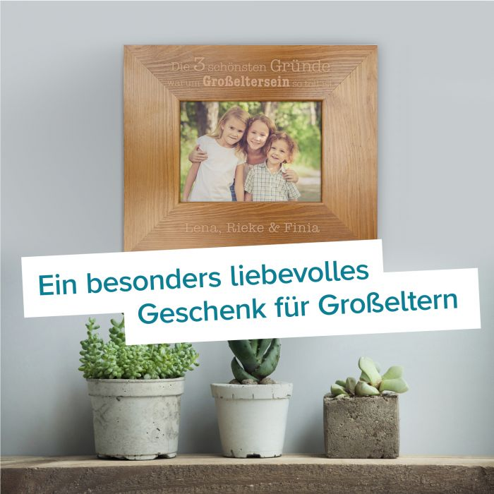 Personalisierter Bilderrahmen - Warum Großelternsein so toll ist