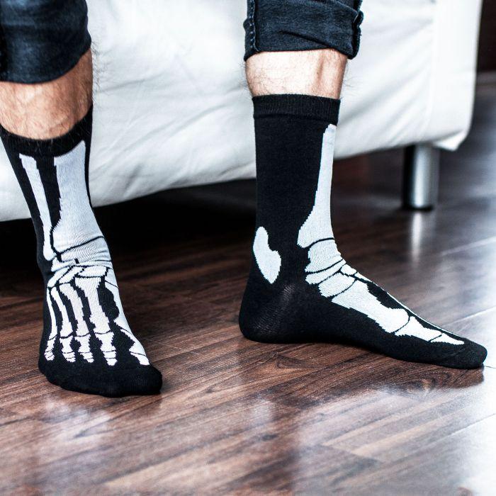 Skelett Socken