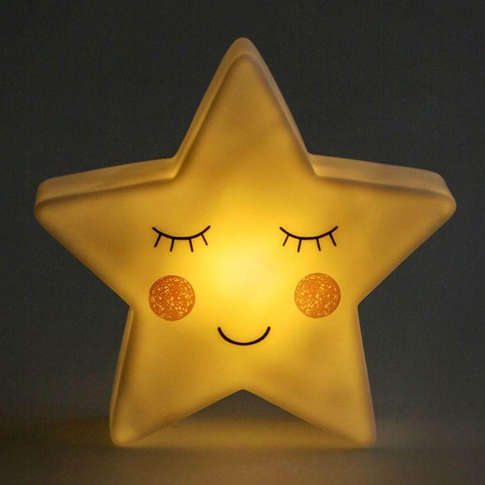 LED Nachtlicht - Stern