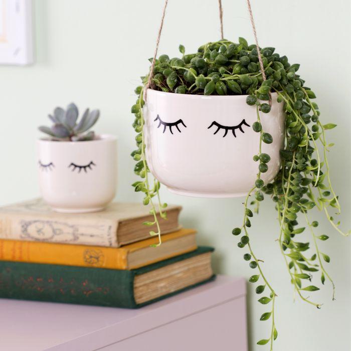 - Blumenampel mit Gesicht - Onlineshop Monsterzeug