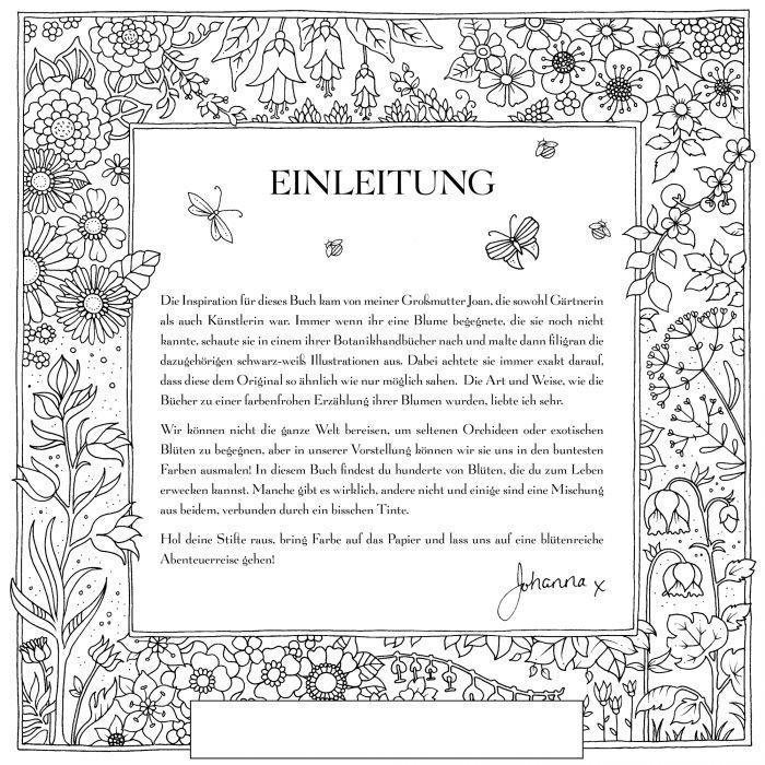 Geschenkset Einhorn Zaubertasse mit Ausmalbuch Blumen