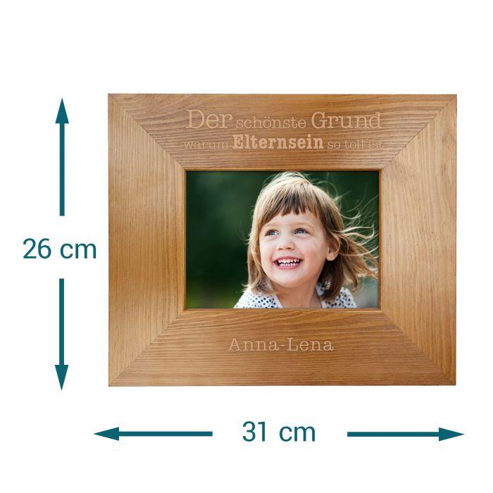 Personalisierter Bilderrahmen - Warum Elternsein so toll ist