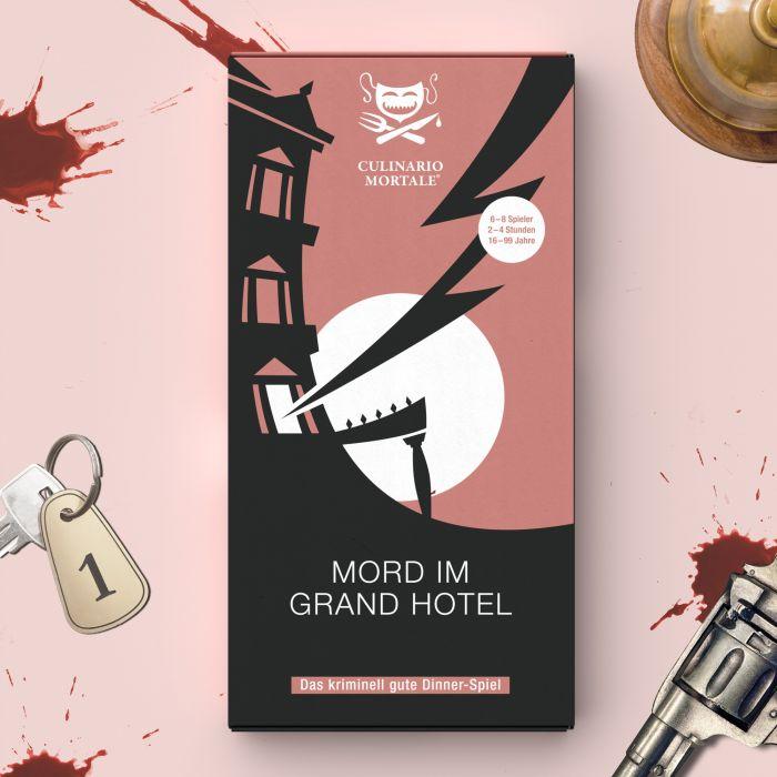 Partybedarfpartydeko - Krimidinner Zuhause Mord im Grand Hotel - Onlineshop Monsterzeug