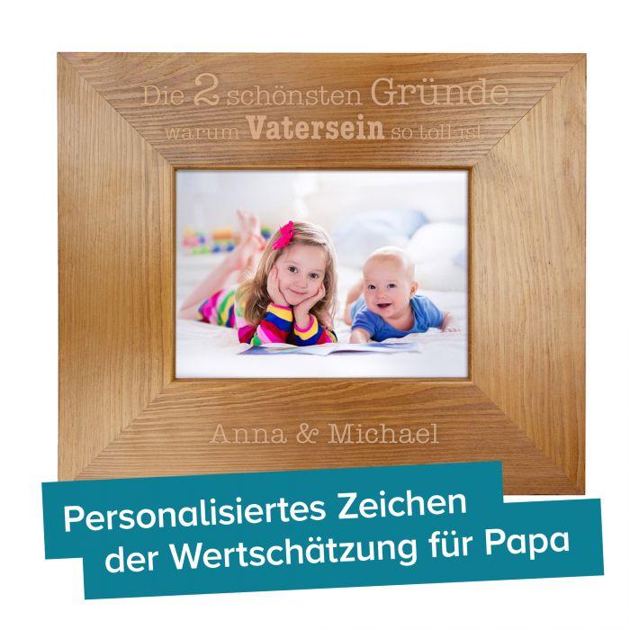 Personalisierter Bilderrahmen - Warum Vatersein so toll ist
