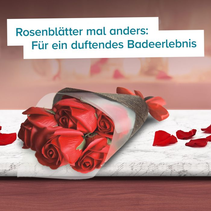 Rosenstrauß Seife