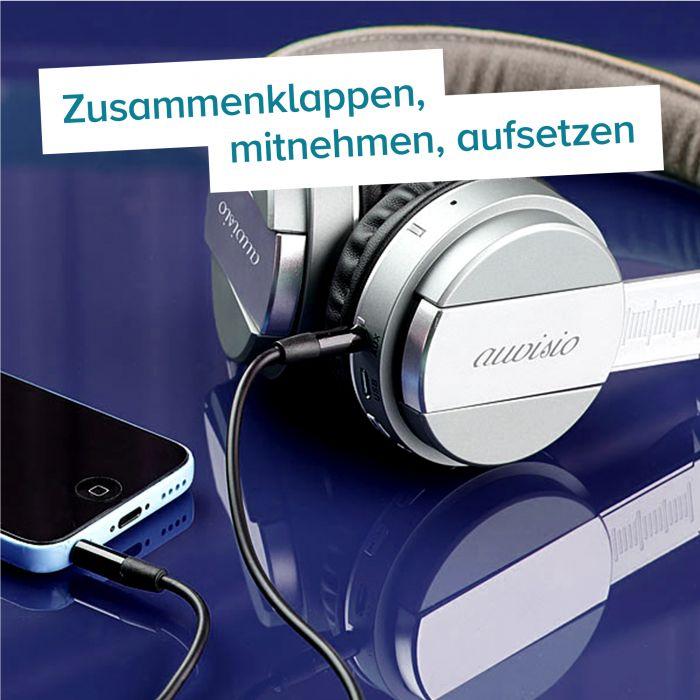 Bluetooth Kopfhörer mit Freisprech-Funktion
