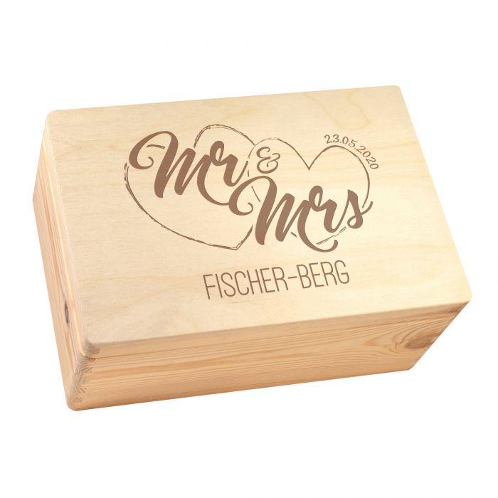 Memory Box - Mr and Mrs