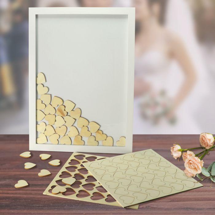 Ausgefallenromantisches - Bilderrahmen Gstebuch zur Hochzeit - Onlineshop Monsterzeug