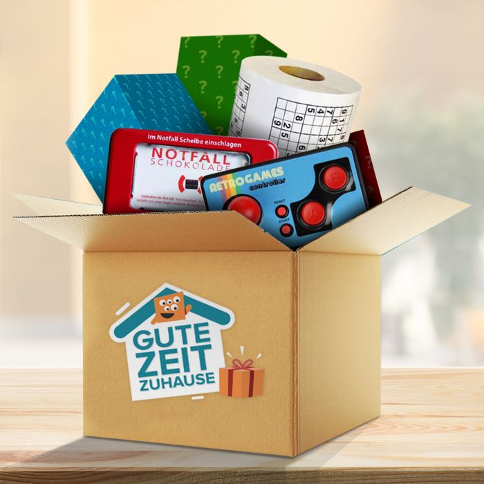 - Gute Zeit Zuhause berraschungsbox - Onlineshop Monsterzeug