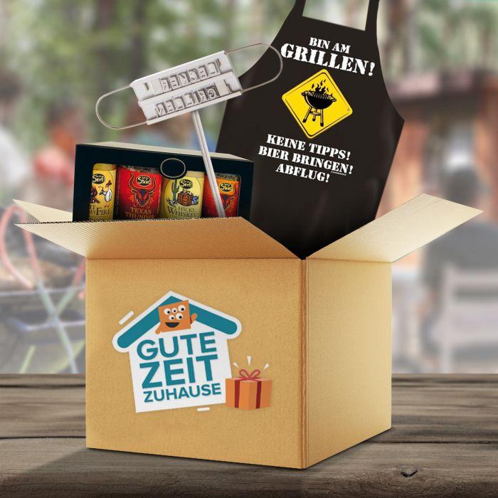 - Gute Zeit Zuhause Grill Box - Onlineshop Monsterzeug