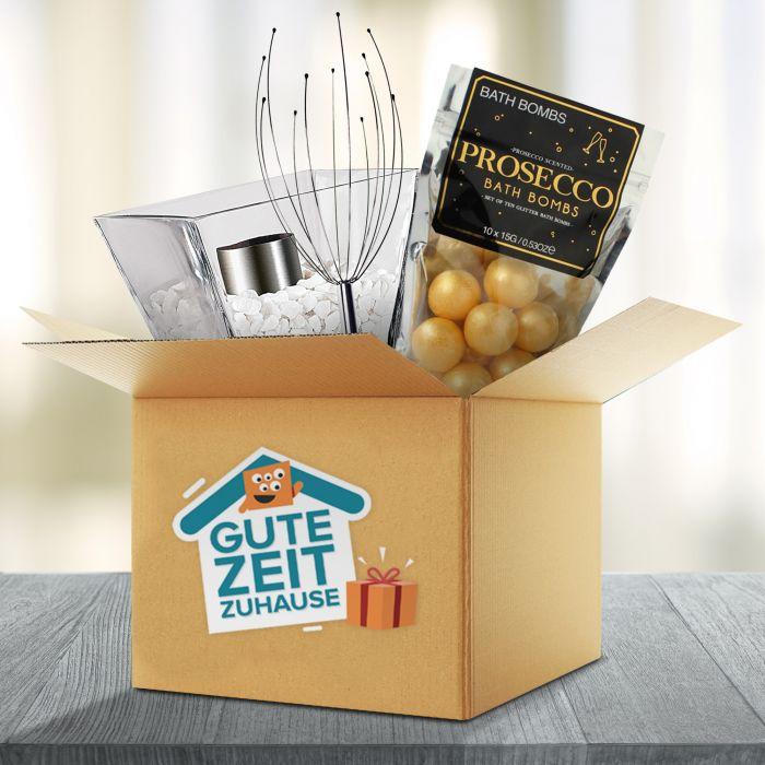 - Gute Zeit Zuhause Wellness Box - Onlineshop Monsterzeug