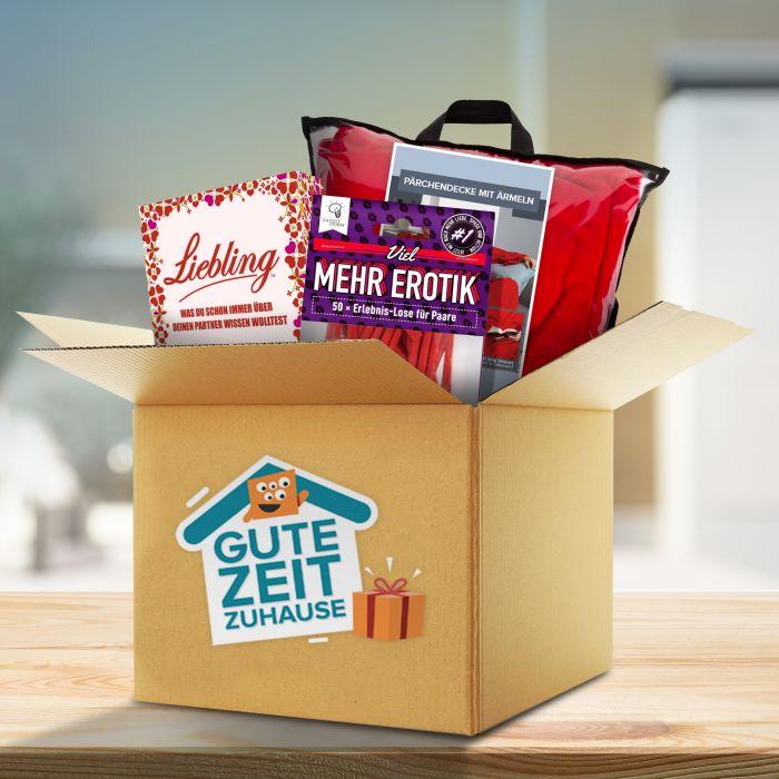 Ausgefallenromantisches - Gute Zeit Zuhause Box fr Paare - Onlineshop Monsterzeug