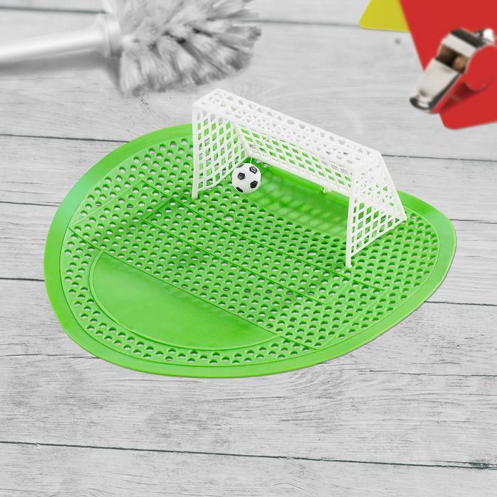 Fußballspiel für Pissoir