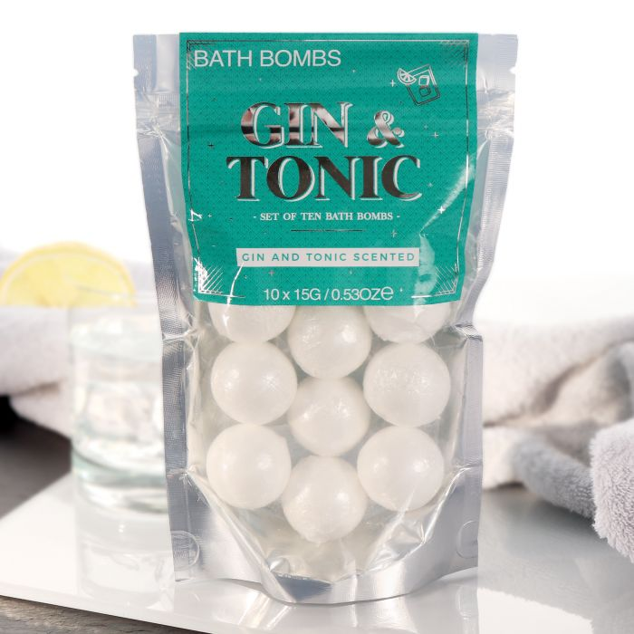 Nützlichwellness - Badebomben Geschenkset Gin Tonic - Onlineshop Monsterzeug