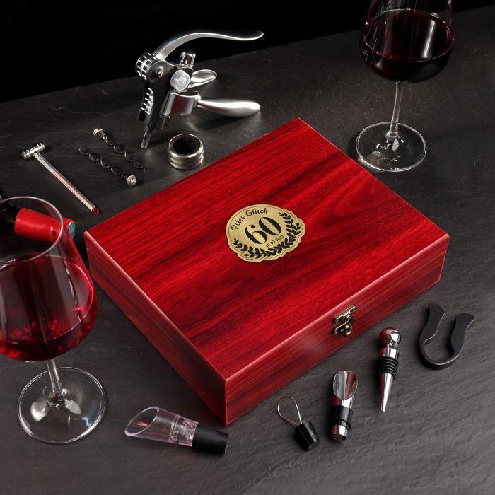 - Wein Sommelier Set zum 60. Geburtstag - Onlineshop Monsterzeug