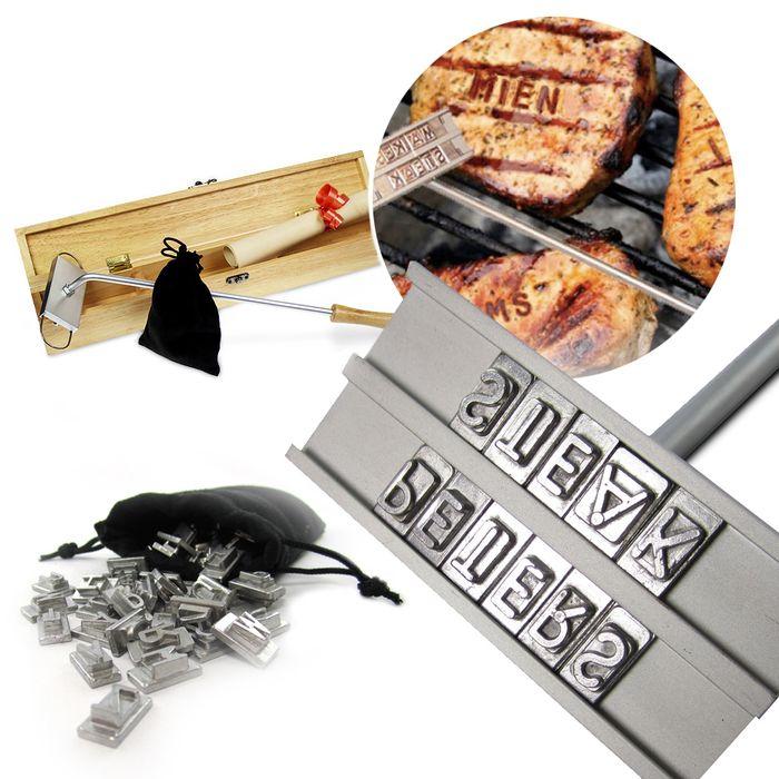 Fer à marquer barbecue