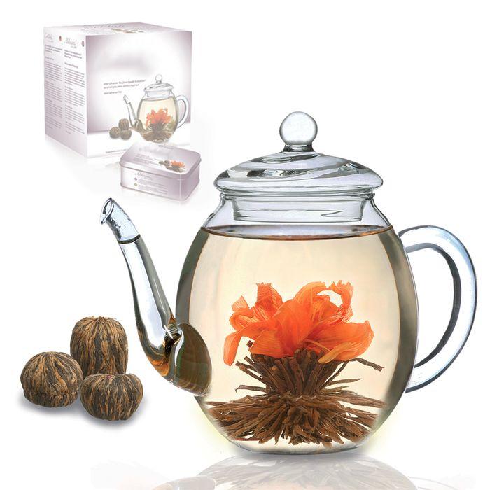 Fleurs de thé – Set cadeau thé noir d4befe150ff