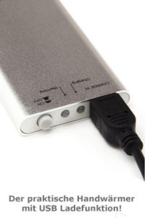 Handwärmer mit USB-Ladefunktion