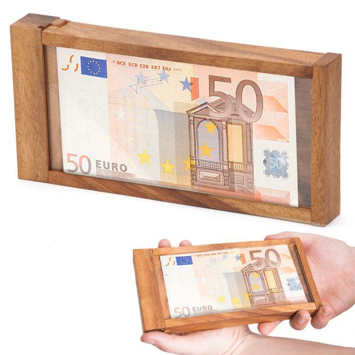 Boîte cadeau d'argent magique