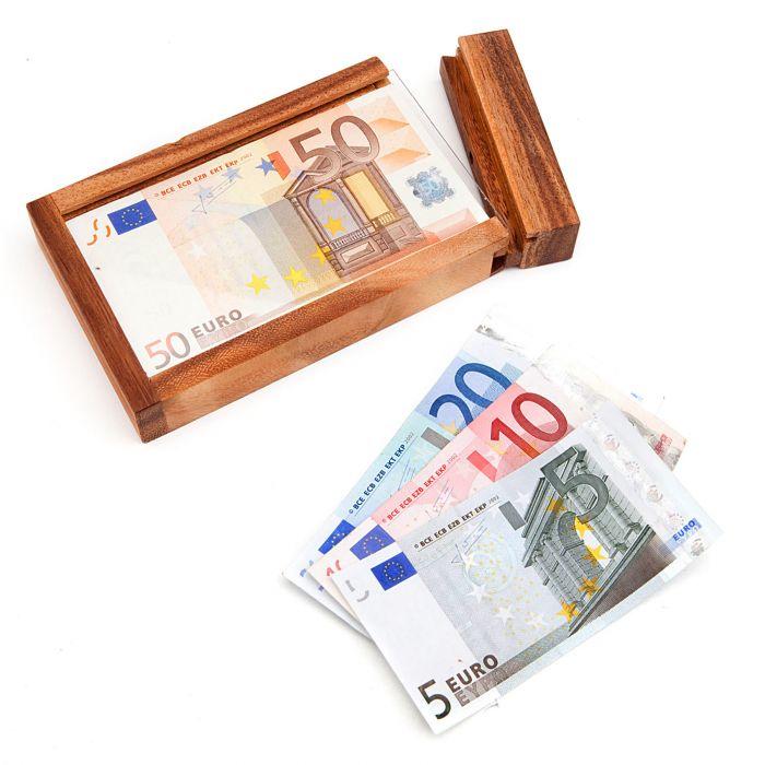 Magische Geldgeschenkbox - ideal zum Verschenken von Geld