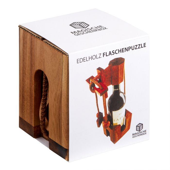 Edelholz Flaschenpuzzle