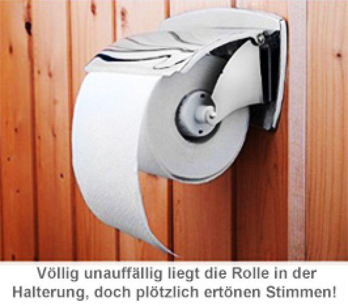 Sprechende Klopapier-Rolle