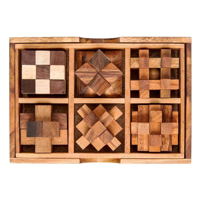 Maître QI - Jeux dans boîte en bois