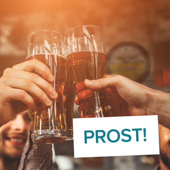 Kein Bier vor Vier - Wanduhr