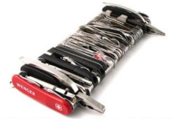 Riesen Schweizer Messer Der Gigant Unter Den Taschenmessern