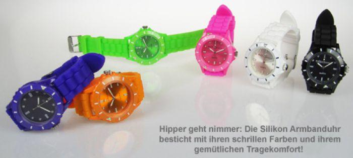 Silikon Armbanduhr