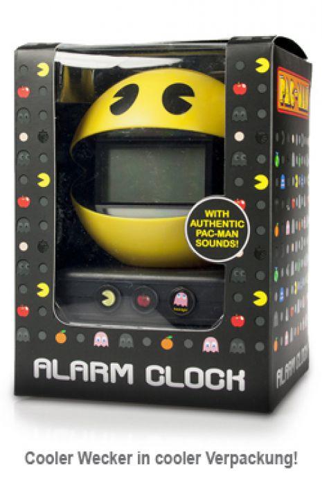 Pac Man Alarm Clock Cooler Wecker In Retro Optik
