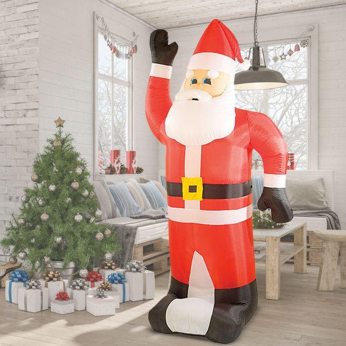 Aufblasbarer Weihnachtsmann XXL - 240 cm