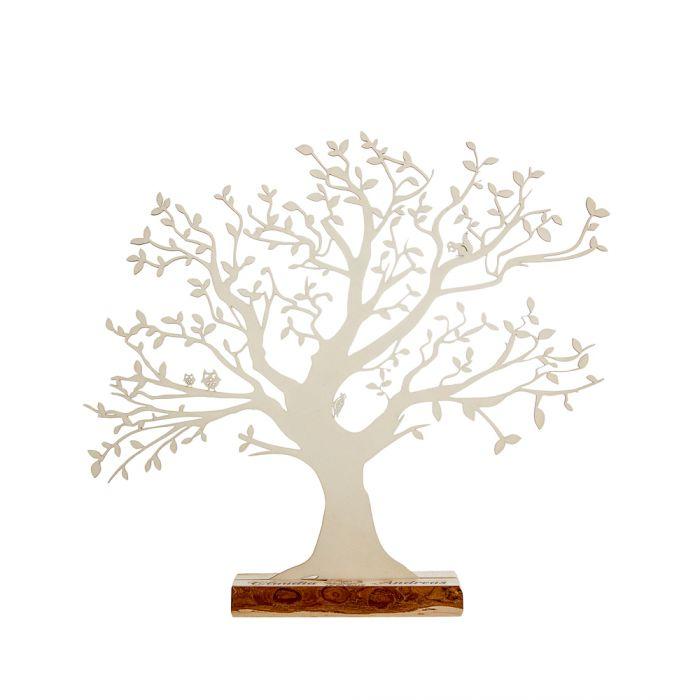Baum Mit Sockel Graviert Zur Hochzeit Gross Geldgeschenk